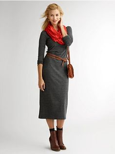 Love this dress/outfit for fall.  I want!