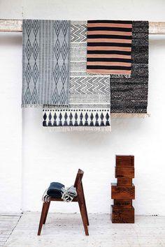 tapis design scandinave House doctor chez midiune.com