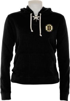Boston Bruins Women s Queensboro Lace Hooded Sweatshirt. I have this and I  love it. 6b76a4004