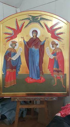 Orthodox Icons, Virgin Mary, Religion, Princess Zelda, God, Fictional Characters, Dios, Religious Education, Fantasy Characters