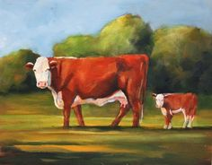 Hereford Cows...Toni Grote