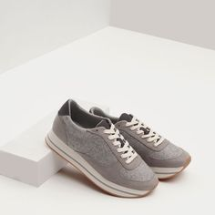 Image 4 of COMBINED SNEAKERS from Zara
