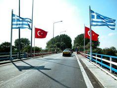 Customs of Kipoi, Bridge of Kipoi, Evros, Greece
