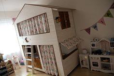 DIY Inspiration Für Kinder Hochbett Haus