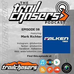 Go #download Ep 08 with Mark Richter from @falkentire. A great #interview where you can learn a lot about #tires. We talk about @genrightoffroad racing and @thejessicombs too.  #jeep #trailchasers #ichasetrails #chaseyouradventure #adventure #4x4 #offroad #offroading #jeepnation #jeepbeef #jeeplife #zjnation #zjmafia #grandcrew #jeepmafia #grandcherokee #cherokee #wrangler #wj #zj #xj #jk #tj #motorsport #podcast #rc