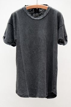 Grey Washed Out Tee