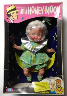 Little Honey Moon Doll by Ideal 1965 Dick Tracy's Granddaughter NM Original Box…