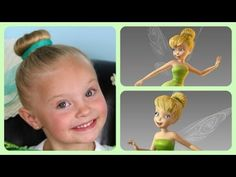 Tinker Bell Hairstyle Tutorial - A CuteGirlsHairstyles Disney Exclusive