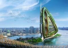 15 Incredible Buildings From The Future, Dragonfly