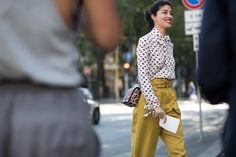 On the Streets of Milan, It's All Gucci, All the Time Photos | W Magazine