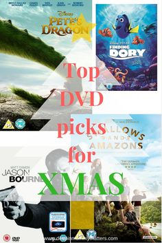 I love a good family film night, what better way to end the day that snuggled under a blanket watching your favourite movie with loved ones.  I've put together a selection of great DVDs for Christmas Gift ideas for him, for her, for boys, for girls, for tots and for teens.  Which would you pick?