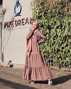 @nabilahcil Hijab Dress, Women's Fashion, Outfits, Dresses, Vestidos, Fashion Women, Dress, Womens Fashion