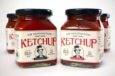 I think I would eat more ketchup if it was packaged like this.
