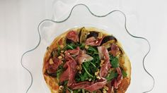 Hoje para jantar ...: Tarte de gorgonzola, figos e presunto do ShowCooking no DeBorla