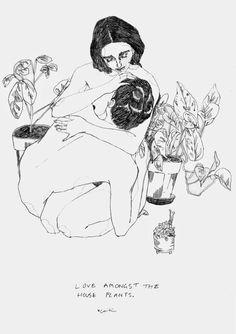 Caitlin Shearer. Love Amongst The House Plants