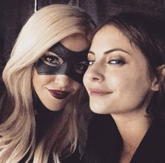 """We are deep in Fraturday "" katie posted this on Instagram #Arrow #BlackCanary"