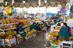 Mercado Central de San Pedro (Peru) // lickmyspoon.com