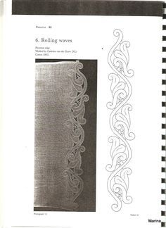 Cutwork Embroidery, Embroidery Designs, Bobbin Lace Patterns, Neckline Designs, Lacemaking, Point Lace, Borders For Paper, Longarm Quilting, Lace Knitting