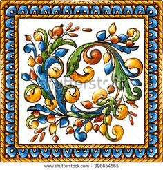 Majolica Stock Photos, Royalty-Free Images & Vectors - Shutterstock