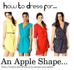 Dresses for...an apple shape! | boohoo.com blog