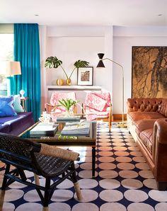 zeitgenssischen stil casa vintage vintage huser sofa madrid wohnzimmer insel guten morgen umgebung