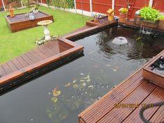 My Pond + Decking Build - Page 20 - Your Pond Forum Pond Life, Google Images, Building, Outdoor Decor, Gardening, Diy, Home Decor, Decoration Home, Bricolage