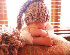 Crochet Elf Hat Photography Prop