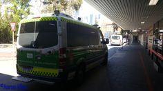 https://flic.kr/p/Nwn7Qy | St John Ambulance WA | Ambulance parked outside Royal Perth Hospital. Perth, WA