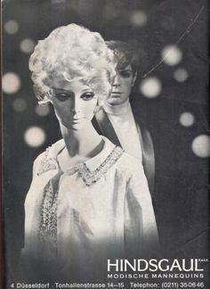 hindsgaul mannequin/ broshure 1968