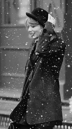 B+W Snow covered Taylor