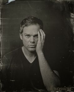 michael c. hall tintype portrait