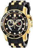 Invicta Men's 6981 Pro Diver Collection Chronograph Black Dial Black Dress Watch - http://tonysgifts.net/2015/02/06/invicta-mens-6981-pro-diver-collection-chronograph-black-dial-black-dress-watch/