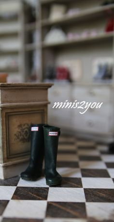 Hand made brand rubber boots