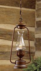 Rustic Lantern Pendant $149.95 sale