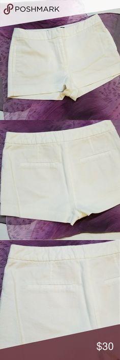 Zara white shorts Zara basic white shorts in perfect condition Zara Shorts