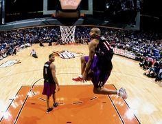 Vince Carter Tracy McGrady Toronto Raptors NBA Slam Dunk Contest