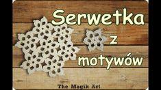 Serwetka z motywów - Szydełkowanie bez tajemnic Crochet, Decor, Art, Crochet Hooks, Decoration, Decorating, Crocheting, Dekorasyon, Kunst