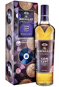 Macallan Concept No# 2 Scotch Whiskey, Bourbon Whiskey, Liquor Bottles, Vodka Bottle, Macallan Whisky, Single Malt Whisky, Wine And Spirits, Distillery, Craft Beer