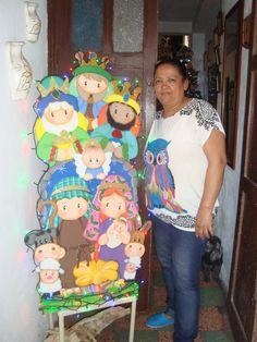 NACIMIENTO Christmas Nativity, Christmas Themes, Christmas Holidays, Christmas Crafts, Christmas Decorations, Xmas, Diy And Crafts, Arts And Crafts, Country Crafts