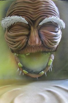 River Spirit from Spirited Away. | 33 Studio Ghibli Cakes That Are Guaranteed To Blow You Away