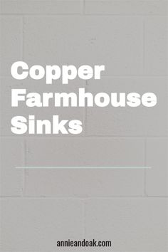 If you're debating whether to purchase a copper farmhouse sink, there are three special considerations you'll want to keep in mind. The first is price. Copper is one of the most expensive materials to choose for your farmhouse sink – but for good reason. These sinks can last a lifetime. In fact, some historical copper sinks are still in use that were crafted a century ago. Copper Sinks, Copper Farmhouse Sinks, Copper Bathroom, Farmhouse Sink Kitchen, Copper Kitchen, Kitchen Sinks, Apron Front Kitchen Sink, Single Bowl Kitchen Sink, Fireclay Sink