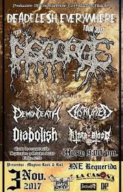 Long Live The Loud 666: DEADFLESH EVERYWHERE TOUR 2017 WITH:DOSGORGE,DEMON...