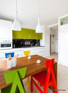 desire to inspire - desiretoinspire.net - A modern and colourful apartment in Finland