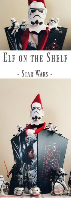Our Elf on the Shelf turned to the Dark Side! Check out our Elf's Star Wars night that can be used to amaze your own Star Wars fan! Quick & Easy!