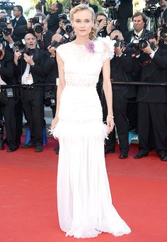 oh Diane Kruger: lovely as always, in Nina Ricci #Cannes