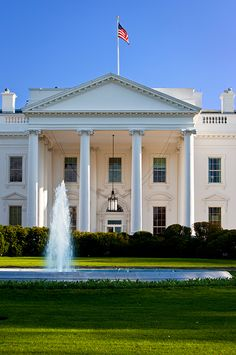 The White House, Washington DC where we rode up in the Roosevelt elevator because my mom was in her wheelchair @ 1964