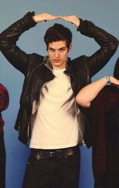 Daniel Sharman — he's completely unaware of how cute he is