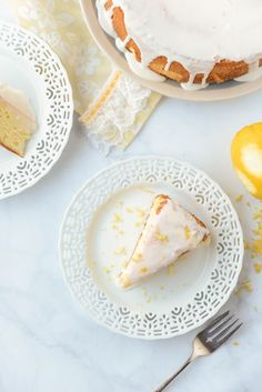 Lemon-Flecked Norwegian Sunshine Cake (Solskinnskake)