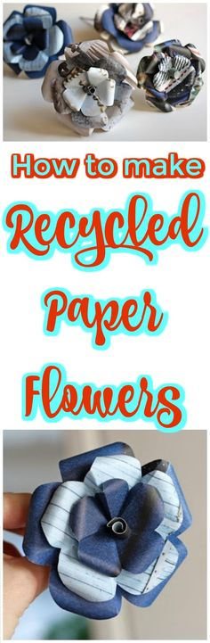 30 DIY Paper Flowers (Step by Step Tutorials / Template) - Page 3 of 6 - DIY & Crafts