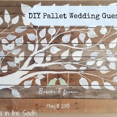 Looking for something different for your wedding guest book? Try this tutorial for making a Pallet Wedding Guest Book! Wood Card Box, Diy Card Box, Wedding Gift Card Box, Gift Card Boxes, Wedding Guest Book, Pallet Wedding, Diy Wedding, Wedding Favors, Nautical Wedding